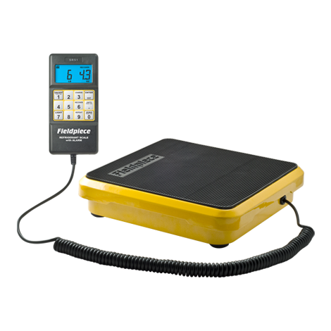 SRS1 – Báscula de refrigerante para uso doméstico y comercial ligero
